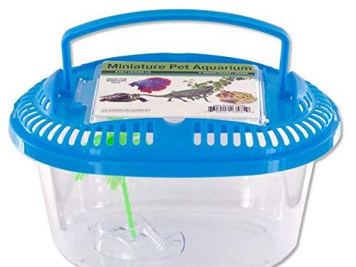 Kole Imports HX184-96 Miniature Pet Aquarium with Handle44; 96 Piece