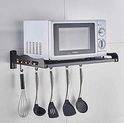 CFZMZWJ Soporte de pared para microondas, para cocina, montaje en ...