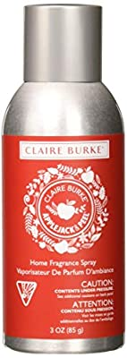 Claire Burke Apple Jack & Peel Spray Kitchen Décor Fragrance/Home Scent, Small Red
