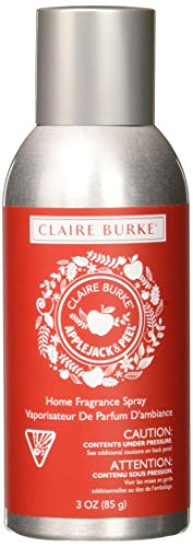 Claire Burke Apple Jack & Peel Spray Kitchen Décor Fragrance/Home Scent, Small, Red