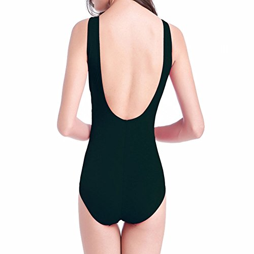 Padded Summer Size Women One Parties Slim Swimwear Piece Black Xinvision Plus Suit Beach Fit Swimsuit Bikini for Swimming SwFxqAPzR5