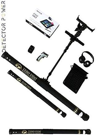 Amazon.com : TERO VIDO PRO Version 3D System Metal Detector - Professional Deep Seeking Detector - Underground Depth Scanner - Gold, Silver, Coins, Jewelry, ...