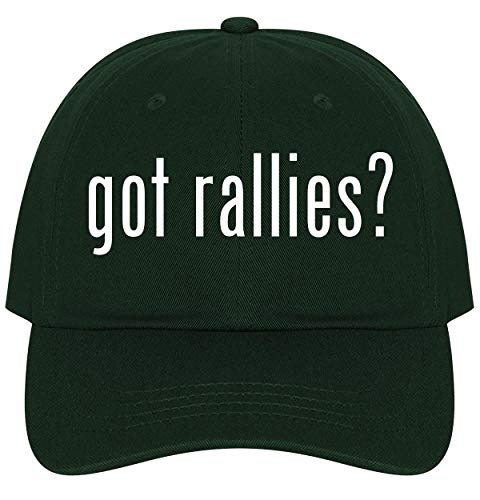 (The Town Butler got Rallies? - A Nice Comfortable Adjustable Dad Hat Cap, Forest)