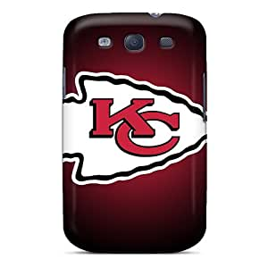 Awesome Kansas City Chiefs 5 Flip Case With Fashion Design For Galaxy S3