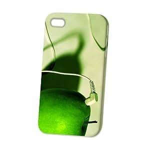 Case Fun Apple iPhone 4 / 4S Case - Vogue Version - 3D Full Wrap - Play Music