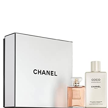 Amazon.com  CHANEL Coco Mademoiselle Signature Box Gift Set Eau de Parfum 50ml/1.7oz + Moisturizing Body Lotion 200ml/6.8oz  Body Muds  Beauty  sc 1 st  Amazon.com & Amazon.com : CHANEL Coco Mademoiselle Signature Box Gift Set :Eau de ...