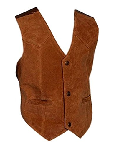 Scully Boys' Boar Suede Vest Bourbon Small