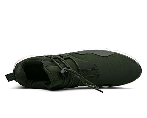 Hiver Green Respirant Automne Loisirs Chaussures Hommes Exercice Army Couleur Unie zqwYtBT
