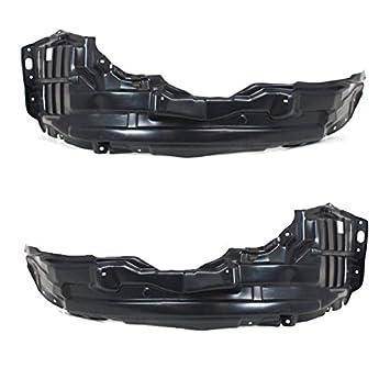 03-06 Lancer Evo Front Splash Shield Inner Fender Liner Left Right Side SET PAIR