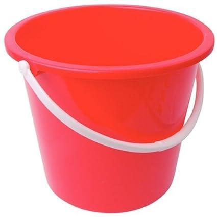 Blue Jantex Round Plastic Bucket 10Ltr Dimensions 260(H) x 280(W) x 295(D)mm