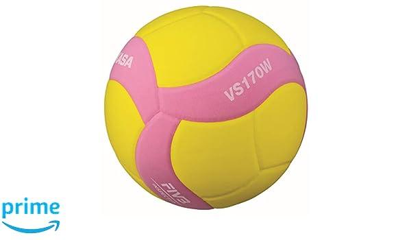 MIKASA VS170W-Y-P - Balón de Voleibol, Color Rosa: Amazon.es ...
