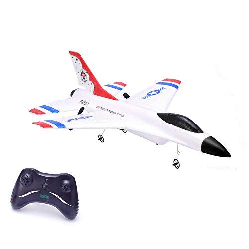 Remote Control Airplane,2.4GHz Radio Control Aircraft with Built in Gyro,RC Plane for Kids Boys Adult Beginner