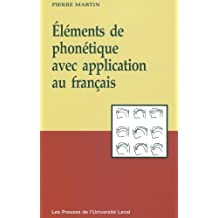 Eléments de phonétique avec application au français
