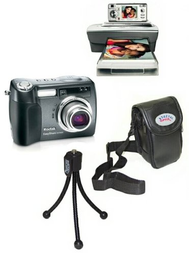 Kodak Easyshare Dx7630 - 6.1 Mp Digital Camera C/w Printer Dock, Camera Bag & Mini Tripod (1 yr. Warranty)