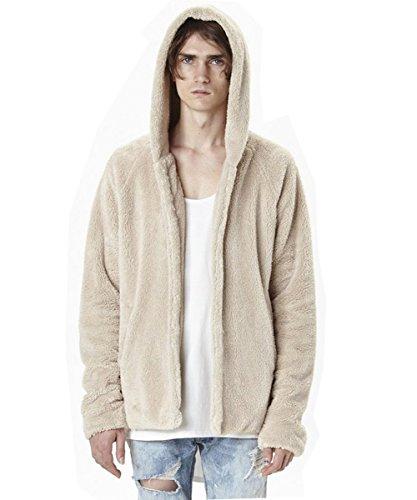 Men's Fleece Hoodie Sweatshirt kanye west sweatshirt hooded - Kanye West Style