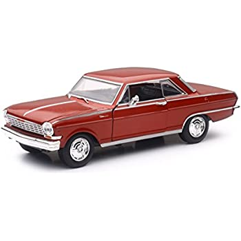 Amazon Com 1964 Chevrolet Nova Ss Burgundy Muscle Car Collection