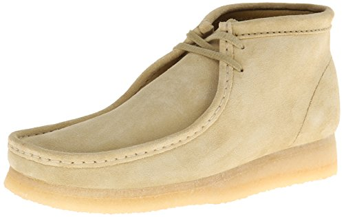 CLARKS Men's Wallabee Boot, Maple Suede, 12 D - Medium ()