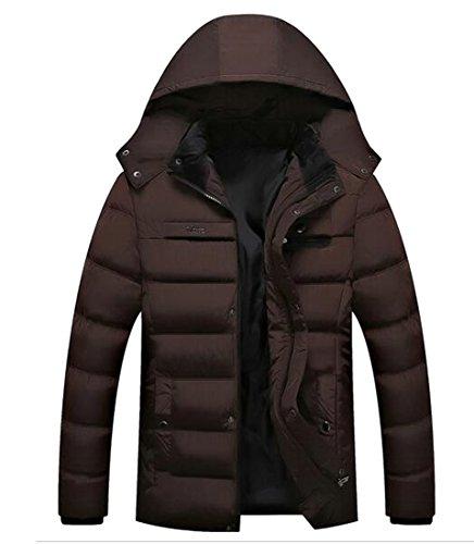 UK Puffer Winter Coats Hooded Thicken Full Zip Mens Down Jacket today 1 pw1dqp