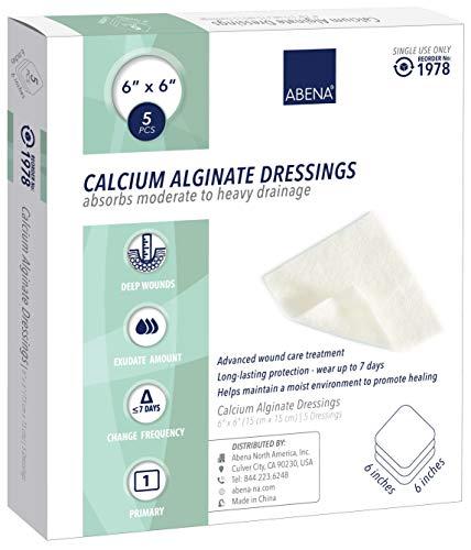 Abena Calcium Alginate Dressing, Sterile, 6