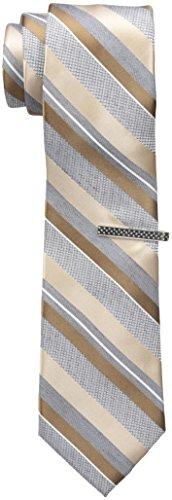 Nick Graham Men's Stripe Neck Tie, Multi, One Size
