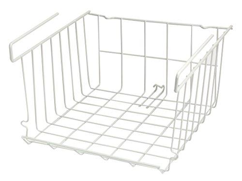 - Under Cabinet Storage Basket - White