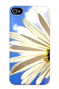 Fashionable Style Case Cover Skin Series For Iphone 4/4s- Sky Nature Blue Sun Sunset Orange Clouds Sunrise Colors