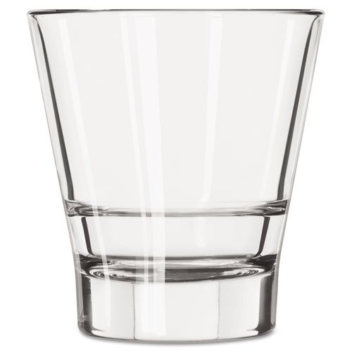 (LIB15712 Endeavor Rocks Glasses, 12 oz, Clear, Double Old Fashioned Glass)