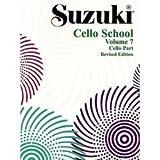 Suzuki Cello School Volume 7 - Book