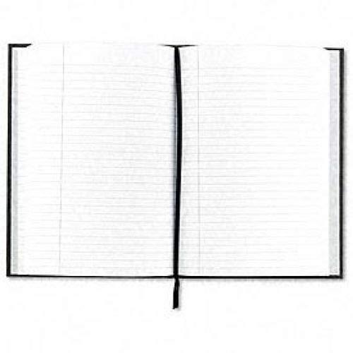 Royale Business Notebook, Casebound, 10-1/2 x 8, Black/Gray