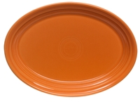 Fiesta® Small Oval Platter in Tangerine