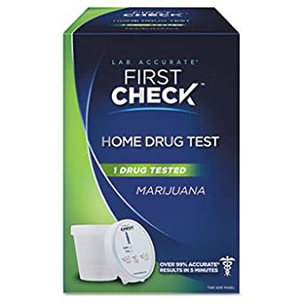 Amazon.com: First Check Marijuana Drug Test Kit KIT,DRUG, MARIJUANA (Pack of 5): Industrial & Scientific