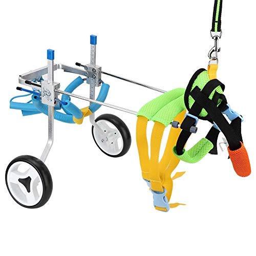 Fdit Adjustable Pet Dog Wheelchair for Hind Legs Rehabilitation