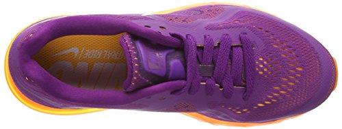 Nike Air Max 2014 - Zapatillas Mujer Morado (brght grp/white-ttl orng-atmc)