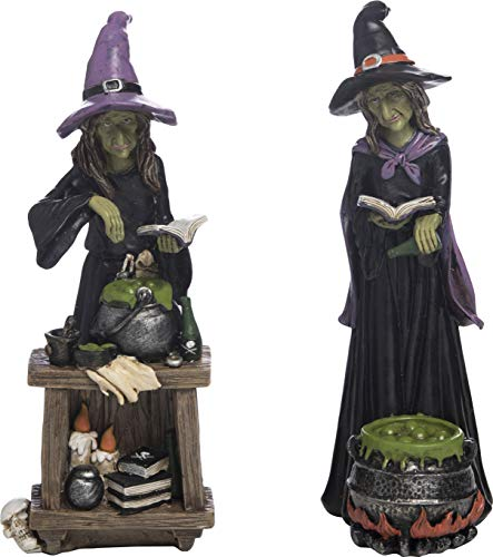 Transpac Imports, Inc. Potion Witch Spooky Black 9