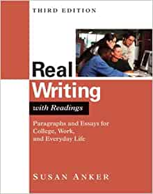 Susan anker real essays with readings third edition