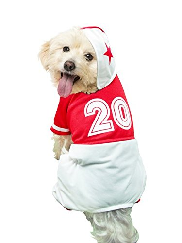 Puppe Love Costumes (Football Uniform Deluxe Costume For Dogs by Puppe Love (Size 4 (12.5