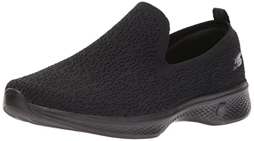 Skechers Performance Womens Go Walk Sneaker 4-gifted Nero
