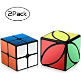 Roxenda Speed Cube Set 2x2x2 Cube, Ivy Cube Puzzle Training Toys for Beginner - Easy Solve and Smooth Play - Super-Durable with Vivid Colors - Turns Quicker and More Precisely Than Original