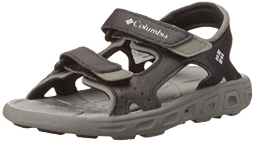 Columbia unisex-child Techsun Vent Sandal ,Black/Columbia Grey,8 M US Toddler