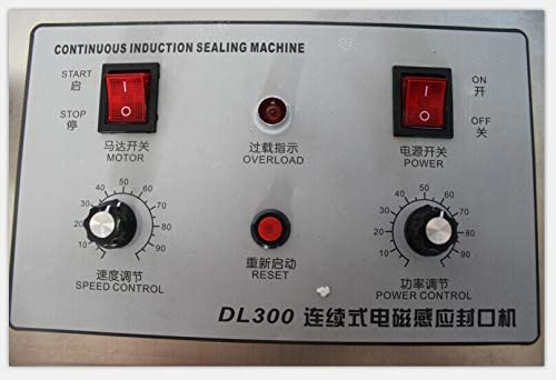 Scelleuse nouvelle machine de cachetage d'induction de tête d'arrivée, scelleur de papier d'aluminium