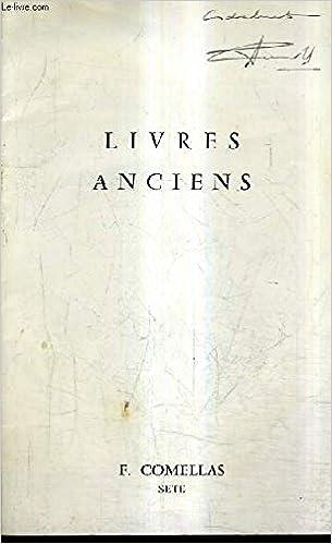 Amazon Fr Catalogue De La Librairie E Comellas Livres