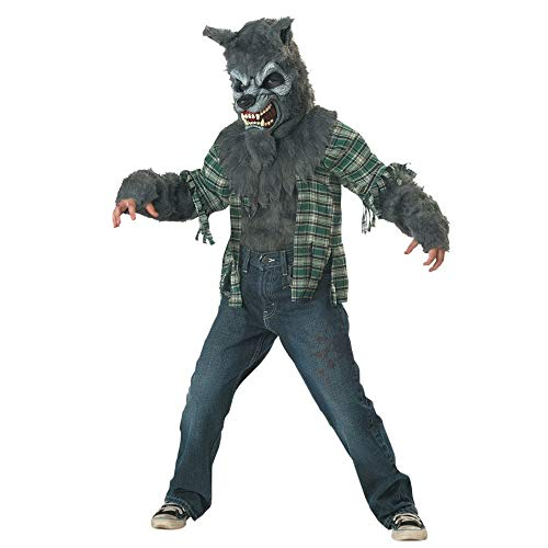 Werewolf Child Costume Grey - Medium