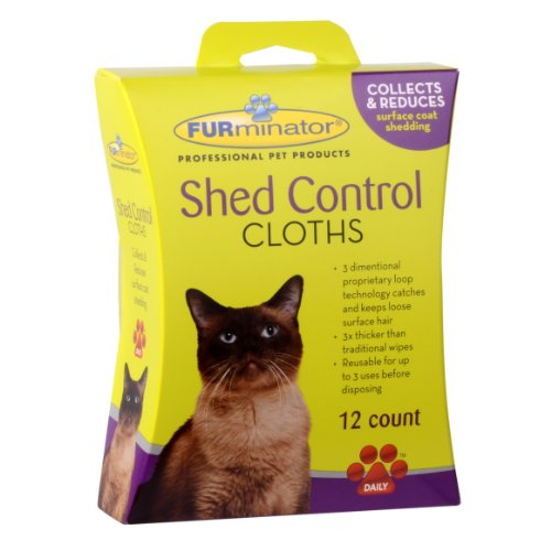 FURminator Cat Shed Control Cloths,
