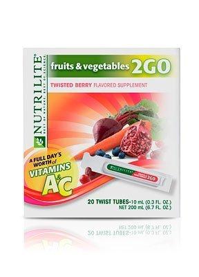 Nutrilite Fruits Vegetables Twist Tubes product image