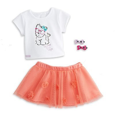 - American Girl - Coconut Cutie Outfit for Dolls + Charm - MY AG 2014