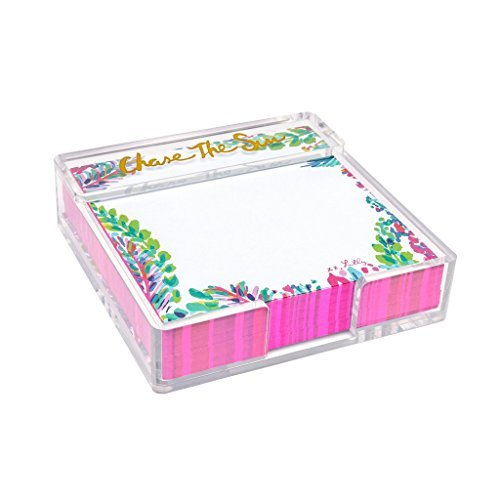 Lilly Pulitzer Small List Pad - Catch The Wave,Pink