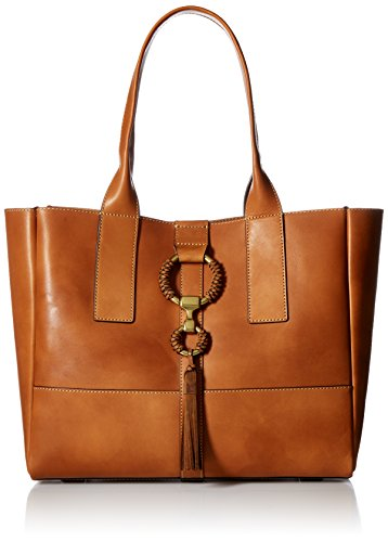 FRYE Ilana Leather Wrapped Tote Bag Antique Veg Tan by FRYE