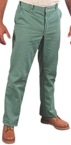 Steel Grip GS16760-28X32 Flame Resistant Cotton Sateen Pants 28 X 32 Green
