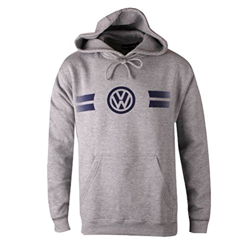 Game Day Hoodie - Genuine Volkswagen VW Game Day Hoodie Sweatshirt - Grey / Gray- Large / Lg