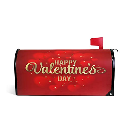 WOOR Valentine's Day Red Heart Bottle Bling Light Hearts Mag